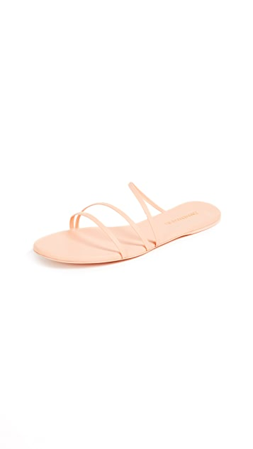 Zimmermann Cross Strap Sandals