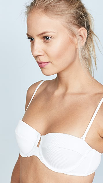 Zimmermann Separates Ribbed Underwire Bikini Top