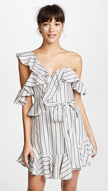 Zimmermann Painted Heart V Dress