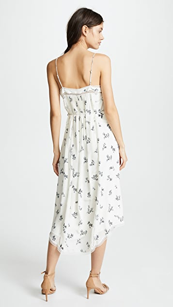 Zimmermann Pintuck Slip Dress