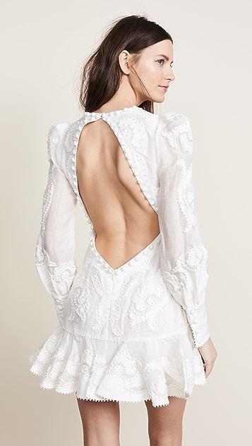 Zimmermann Radiate Applique Flip Dress