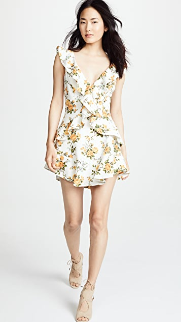 Zimmermann Golden Flutter Dress