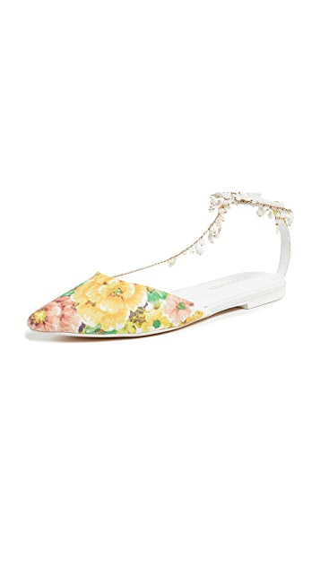 Zimmermann Goldentime Pointed Flats