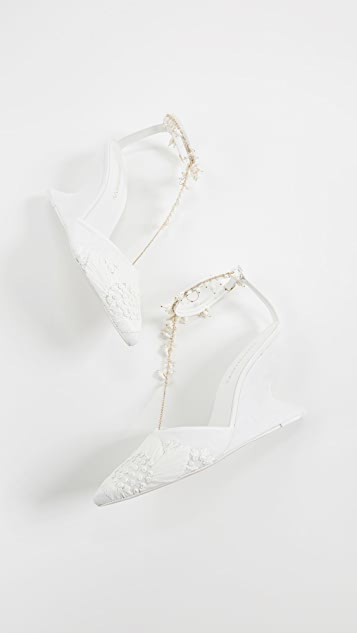 Zimmermann Goldentime Wedge Heels