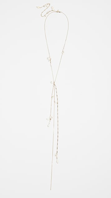 Chain And Shell Long Drop Necklace by Zimmermann
