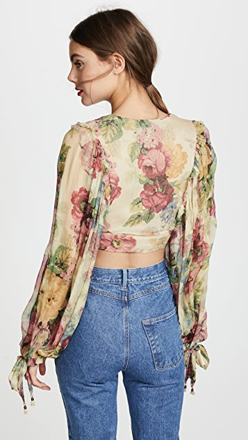 Zimmermann Melody Tie Front Top