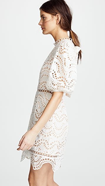 Zimmermann Jaya Wave Short Dress