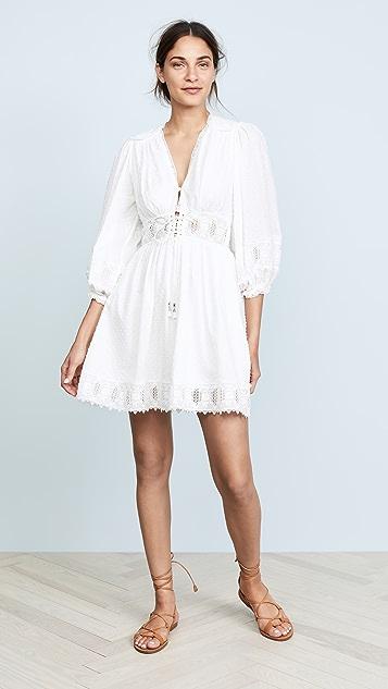 ba17b6cd90 Zimmermann Iris Corset Waist Dress