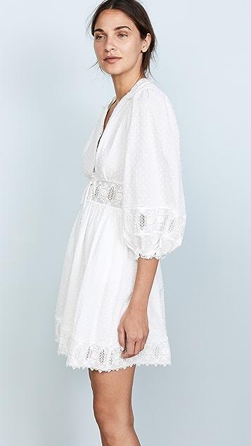Zimmermann Iris Corset Waist Dress