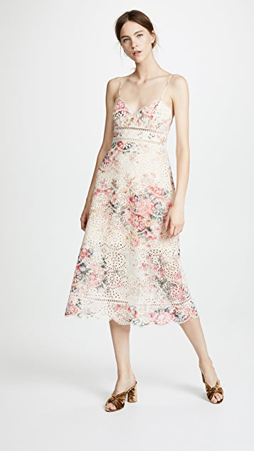 Zimmermann Laelia Diamond Bralette Dress
