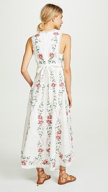 Zimmermann Laelia Cross Stitch Dress
