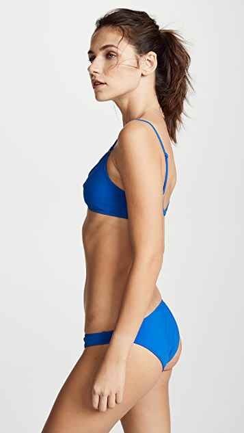 Zimmermann Castile Wrap Front Bikini