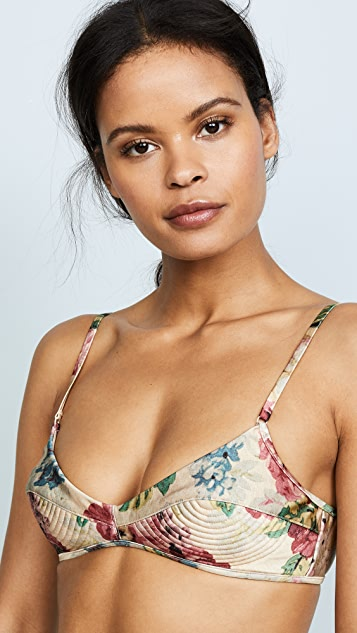 Zimmermann Melody Bullet Bikini Top