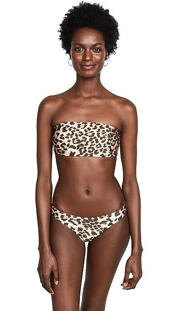 Zimmermann Separates Bandeau Bikini Top