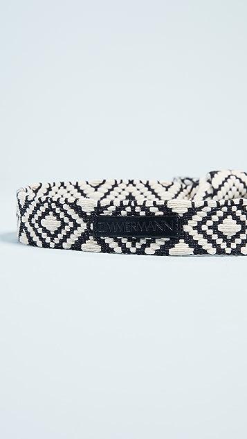 Zimmermann Braid Tie Belt