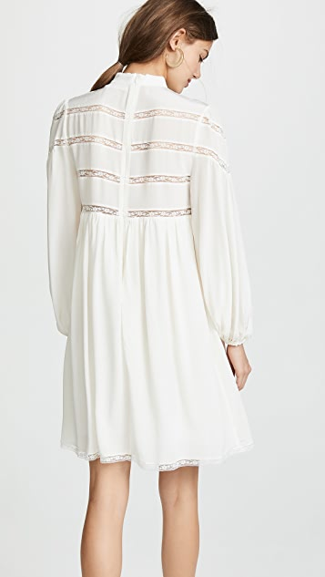 Zimmermann Chevron Lace Dress