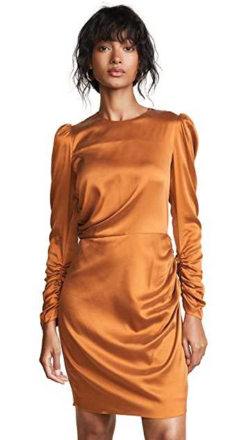 Zimmermann Draped Mini Dress