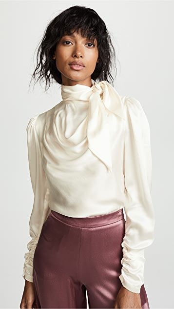 Zimmermann Scarf Bodice Top
