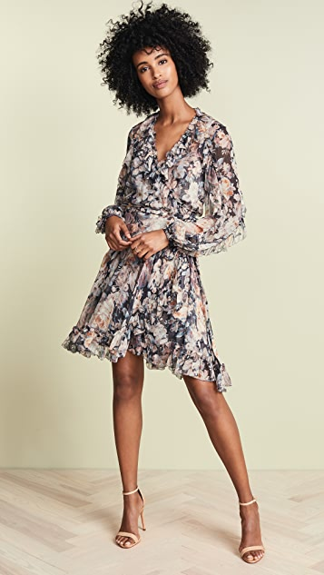 Zimmermann Tempest Cascade Wrap Dress