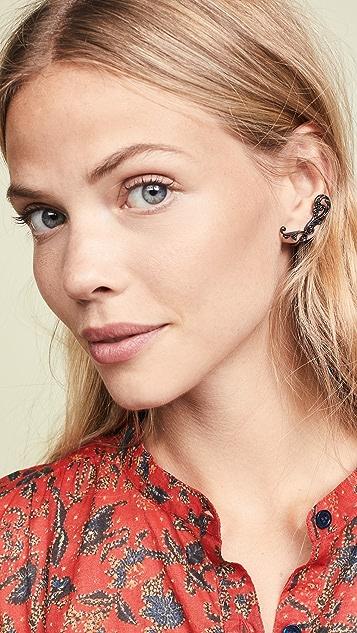 Zimmermann Filigree Mid Cuff Earrings