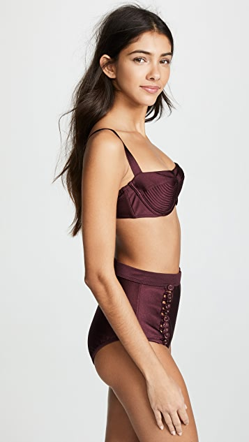 Zimmermann Juniper Balconette Bikini Top