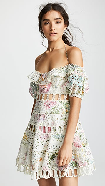 Zimmermann Платье с открытыми плечами Heathers