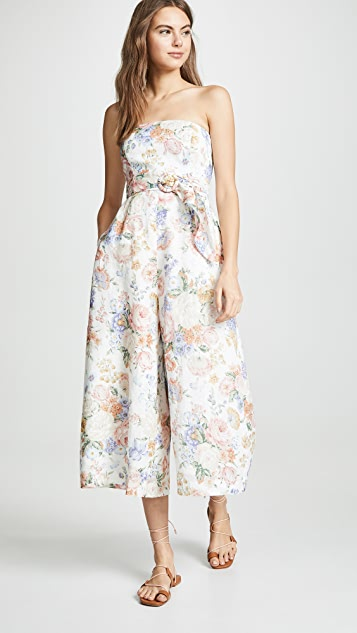 7bb2a79306e9 Zimmermann Bowie Strapless Jumpsuit ...