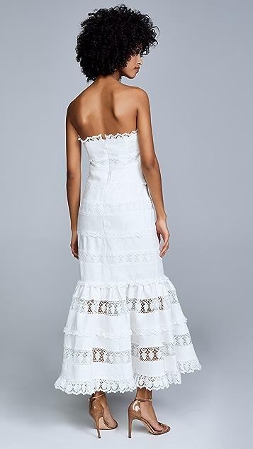 Zimmermann Linen Panel Dress