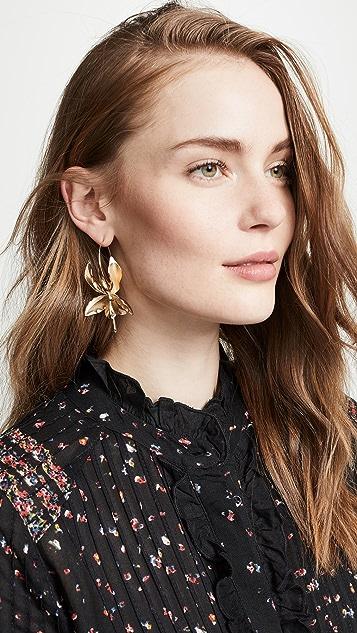 Zimmermann Orchid Single Earring