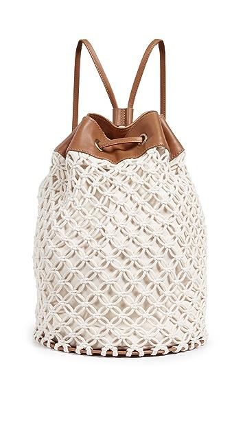 Zimmermann Macrame Beach Duffel Bag