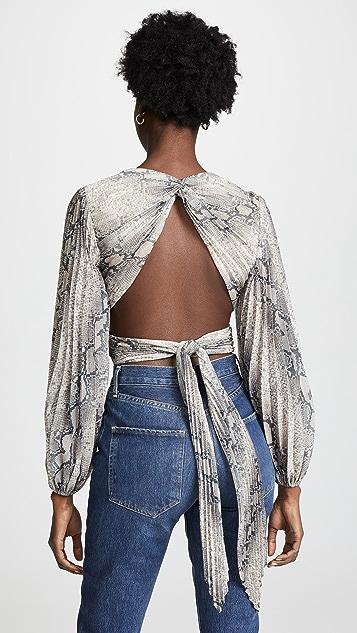 Zimmermann Corsage 裥褶衣身上衣