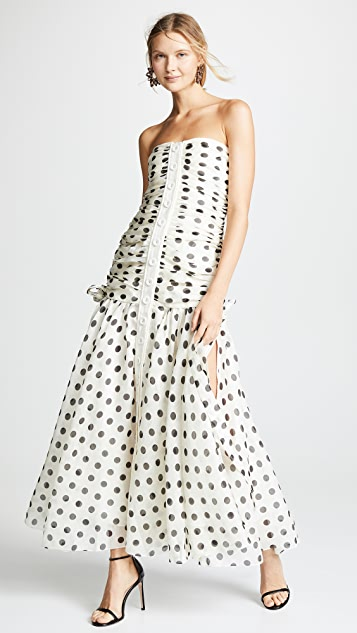 Zimmermann Corsage Ruche Dress