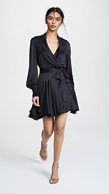 Zimmermann Wrap Mini Dress