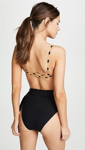 Zimmermann Separates Sculpt Tri Bikini Bra