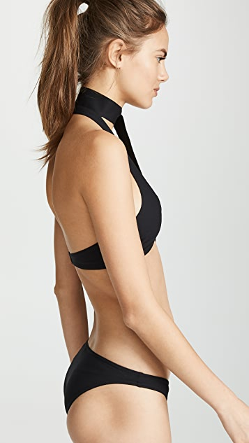 Zimmermann Separates Sculpt Tie Bikini Top