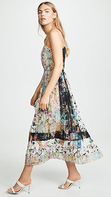 Zimmermann Ninety Six Pleated Slip Dress