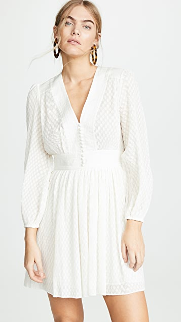 Zimmermann Plisse Short Dress