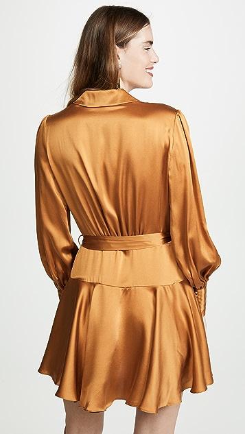 Zimmermann Wrap Short Dress