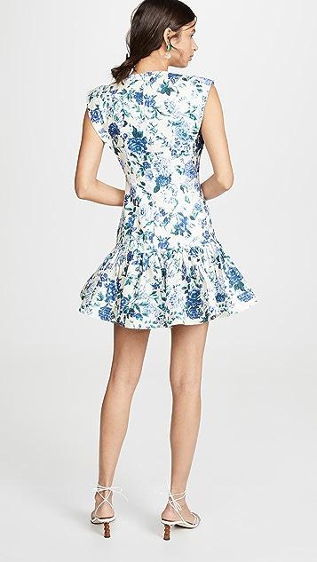 Zimmermann Moncur Flounce Short Dress