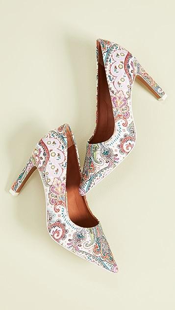 Zimmermann 腰果花浅口鞋