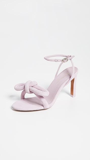 Zimmermann Sculptural Bow Heel Sandals