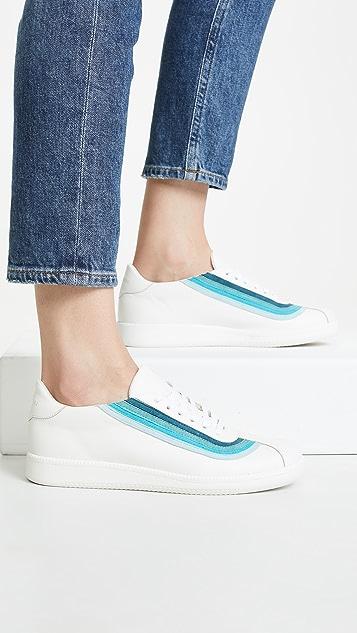 Zimmermann 彩虹运动鞋