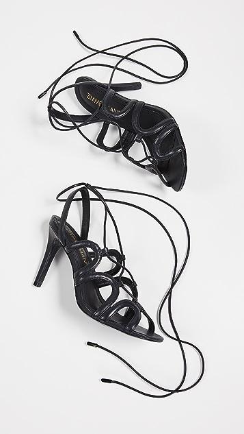 Zimmermann Scallop Heel Sandals