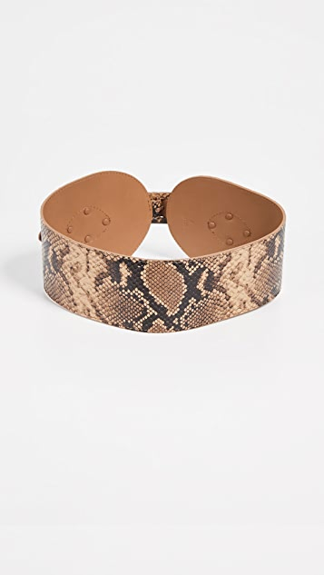 Zimmermann Covered Buckle Waist Belt