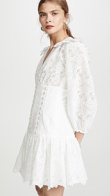 Zimmermann Honour Corset Lace Dress