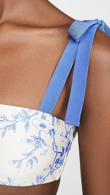 Zimmermann Verity Tie Bandeau Bikini Set