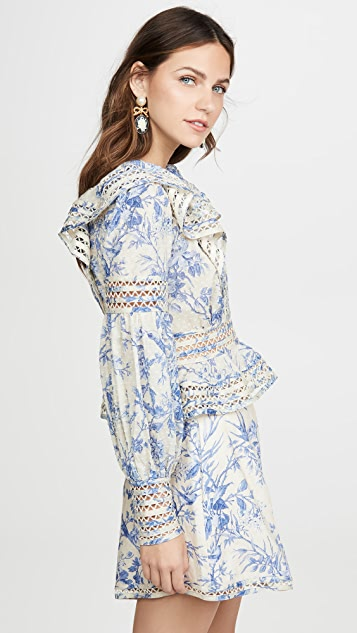 Zimmermann Verity Panelled Linear Top
