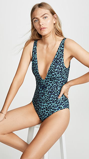 Zimmermann Sculpt V One Piece Swimsuit