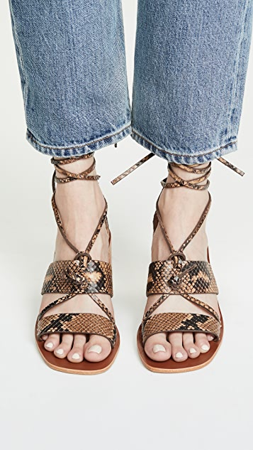 Zimmermann Туфли на каблуке средней высоты с завязками на узел