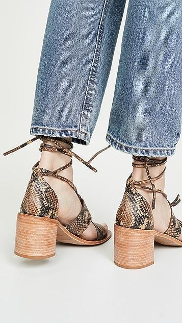 Zimmermann 结饰中跟鞋